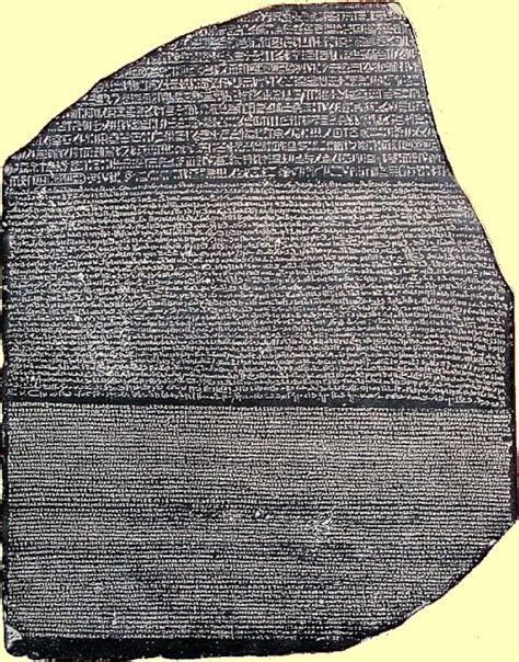 rosetta stone history no 1930 durability of writing