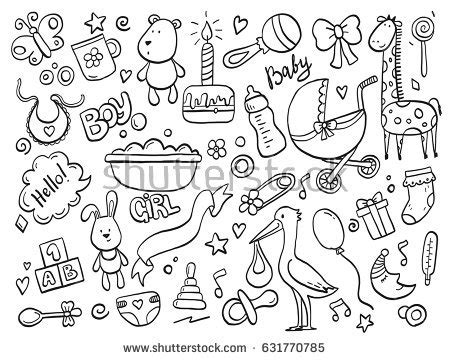 doodle doodle baby baby stock images royalty free images vectors