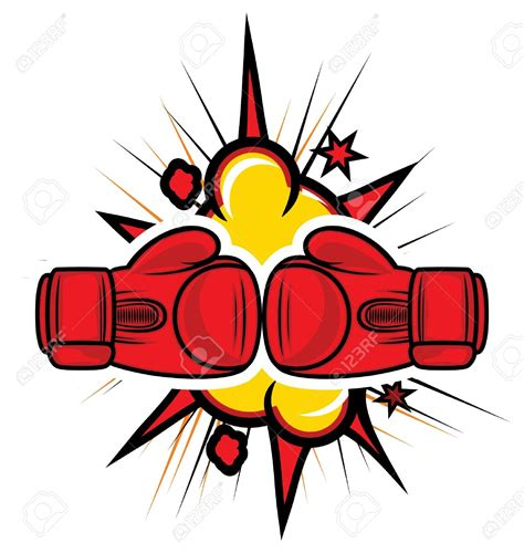 boxing clipart boxer clipart box glove pencil and in color boxer