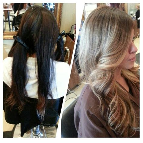 brown hair to hair transformations 1000 images about hair ideas on pinterest ombre subtle