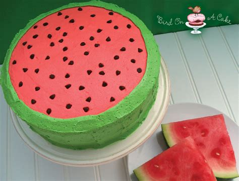watermelon recipe bird on a cake watermelon flavored cake