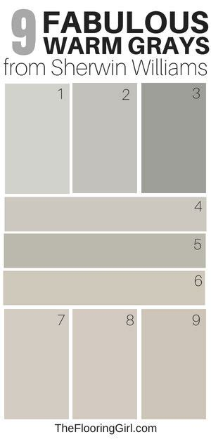 amazing warm gray paint shades  sherwin williams