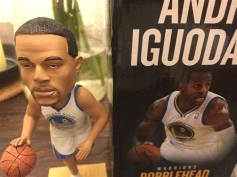 bobblehead quincy ruins andre iguodala larry brown sports