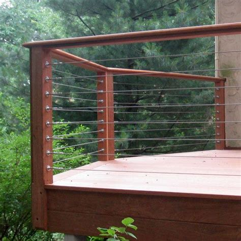 wire banister deck pictures deck railing designs and ideas patio