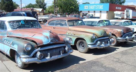 boat salvage yard pueblo co a lot of old classic cars from the 1940s 1950s and 1960s