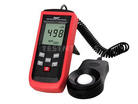light intensity data logger measuring light meter tasi digital datalogging light