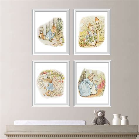Peter Rabbit Nursery Decor Peter Rabbit By Rhondavousdesigns2 Rabbit Decorations Nursery