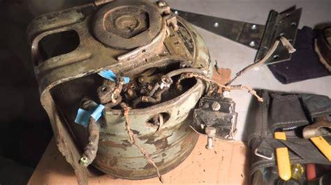 rewiring  south bend lathe motor pt   video