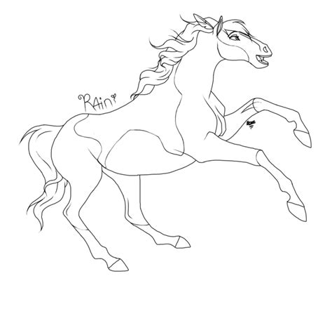 spirit the horse coloring pages coloring home