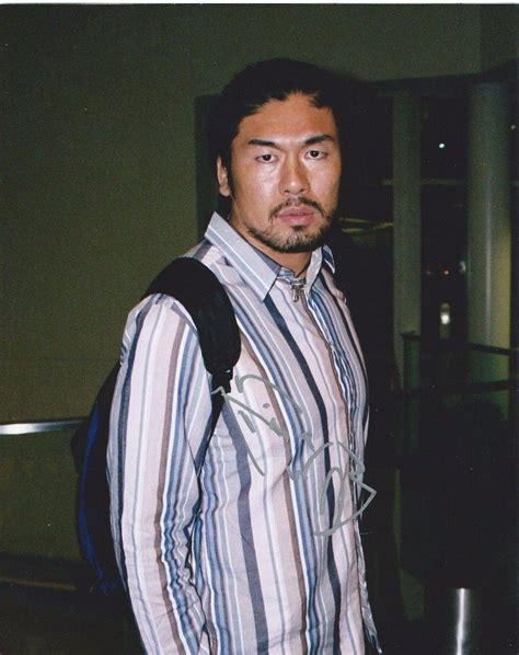 Kenzo Suzuki Kenzo Suzuki Signed Candid 8x10 Photo