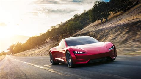 Tesla Roadster surprise reveal   'Quickest car in the