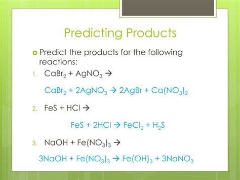 section 3 predicting the products of chemical reactions ppt chapter 11 chemical reactions powerpoint