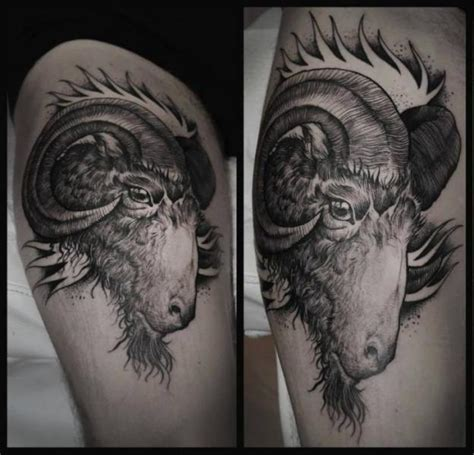 goat milk tattoo removal goat thigh by rock n roll
