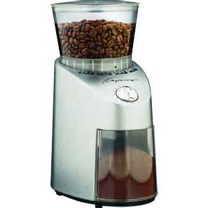 Coffee Grinder Costco Capresso Infinity Coffee Grinder Conical Burr Stainless