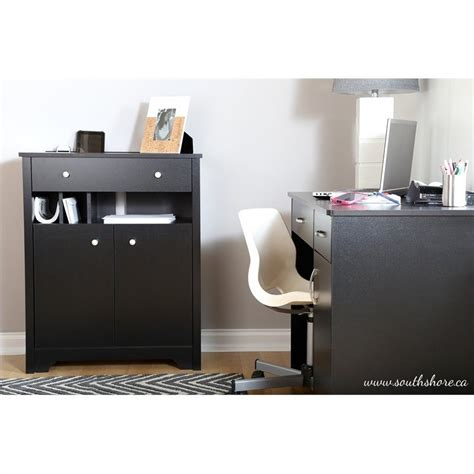 cabinet station south shore vito charging station cabinet in black