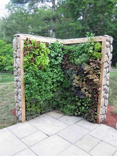 wall herb garden diy vertical garden herb tower making a house a home