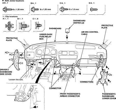 diagram 1994 honda accord diagram