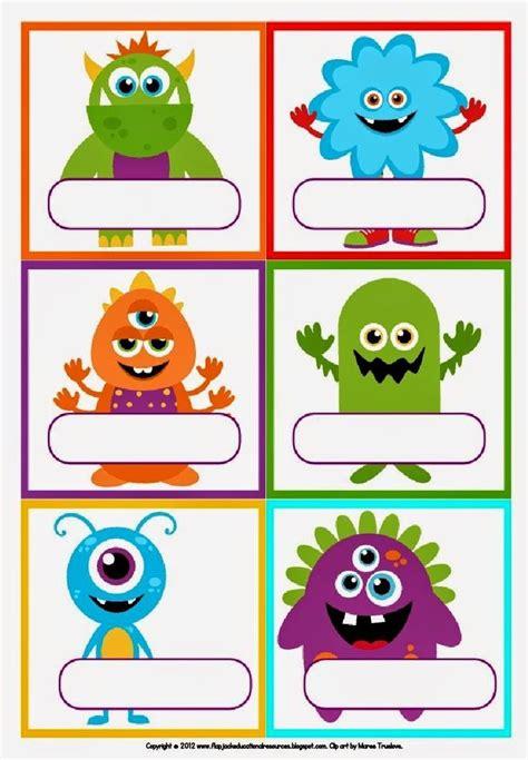 imagenes etiquetas escolares las 25 mejores ideas sobre gafetes para ni 241 os en