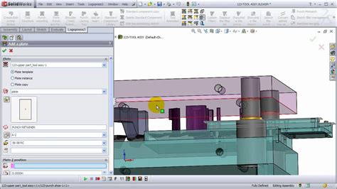 strip layout design software logopress3 strip layout die design part 4 tool