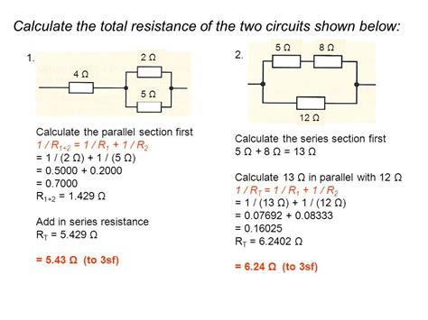 5 resistor in parallel calculator resistance in parallel circuit calculator 28 images circuits current potential difference