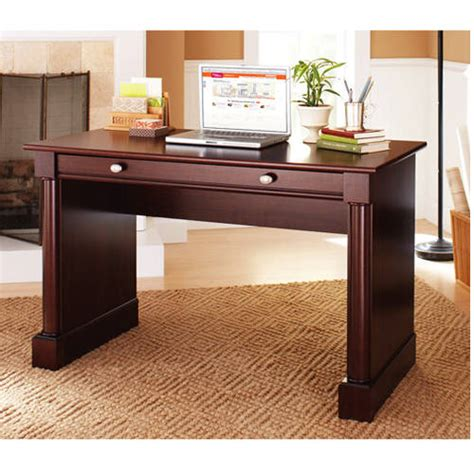 Better Homes And Gardens Ashwood Road Writing Desk Cherry Better Homes And Gardens Office Furniture