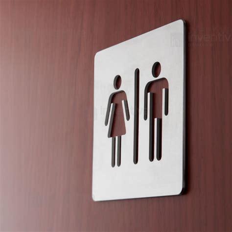 targhe porte insegne toilette cartelli in alluminio con traforato