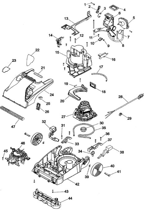 hoover steamvac parts diagram hoover steamvac parts diagram best free home design
