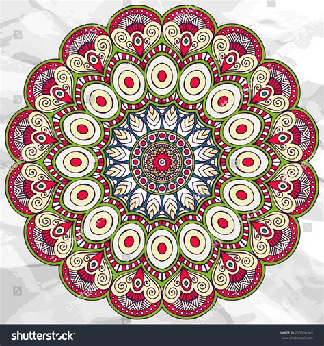ornament template mandala ornament vector pattern vintage stock vector