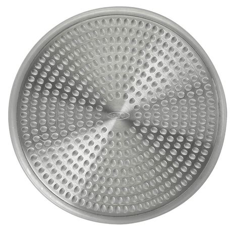 bathroom shower drain covers oxo good grips shower stall drain protector cover hair
