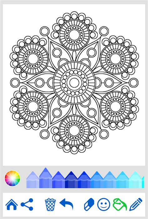 coloring pages for adults app mandala coloring for adults android apps on play