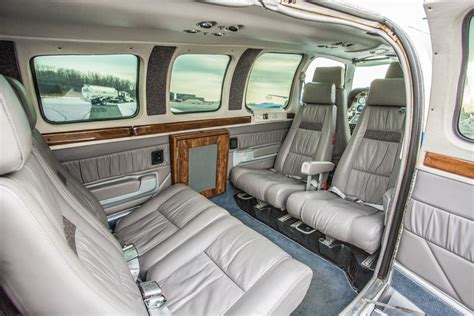 550 Square Feet the beechcraft 58 baron crown royalty of the light twin world