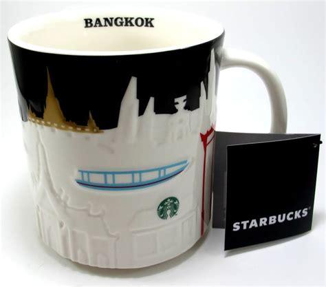Starbucks Tumbler Bangkok City Thailand New Edition new thailand starbucks bangkok city relief global icon mug series collector starbucks bangkok