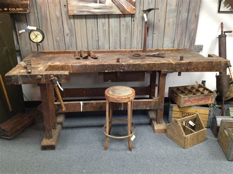 alte werkbank german workbench badger woodworks