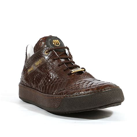 mauri sneakers for mauri italian mens shoes thai python maculato pebble grain