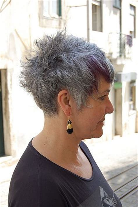 photo of striking older woman with grey and pink hair 413 best images about striking silver on pinterest long