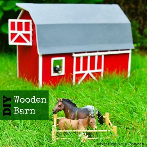 family farm experience diy how to build your own treehouse diy toy wooden barn adventure in a box