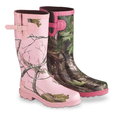 realtree s ms jojo boots 234750 rubber