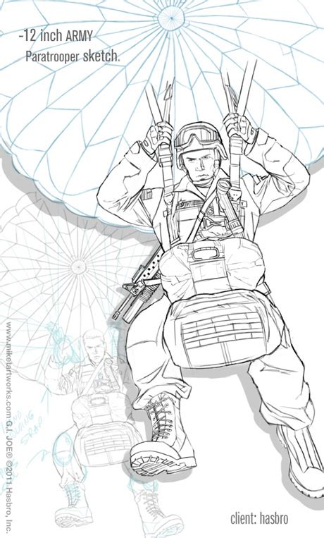 army parachute coloring pages 12 22 11 new joe art 12 joe paratrooper quot i don t know