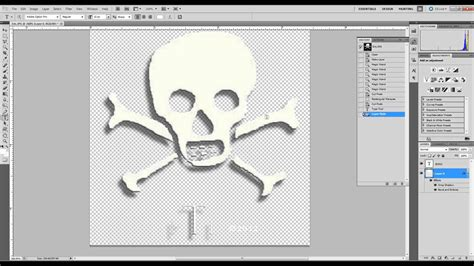 make layout on photoshop cs5 creating a logo from clip art with a transparent