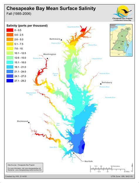 maryland bay map bay resource library chesapeake bay program