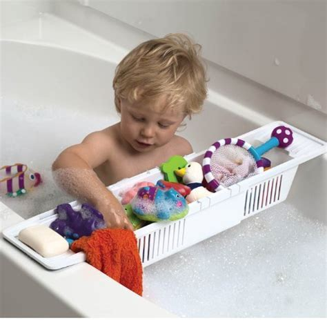 one step ahead bathtub kids bath storage basket and organizer by kidco kidsomania