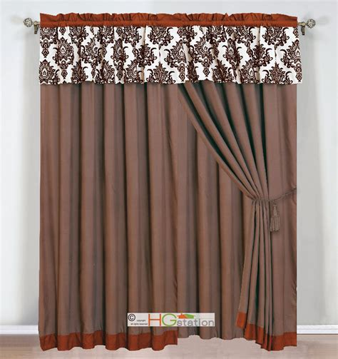 Rust Colored Curtains Designs 617237889232 Jpg