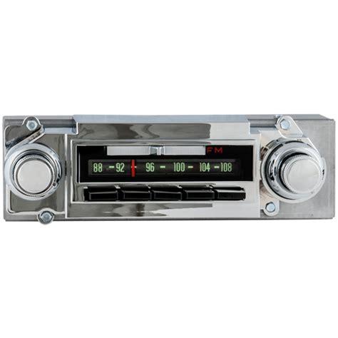 1964 chevrolet radio with bluetooth oe replica classic