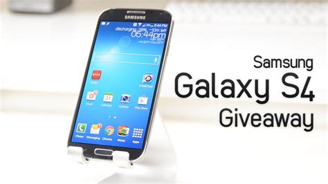 Samsung Galaxy S4 Giveaway - samsung galaxy s4 giveaway international open youtube