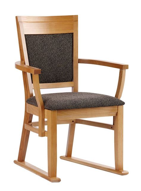 Dining Chair With Arms Chelford Dining Chair With Arms Skids Challenging Environment Renray Healthcare