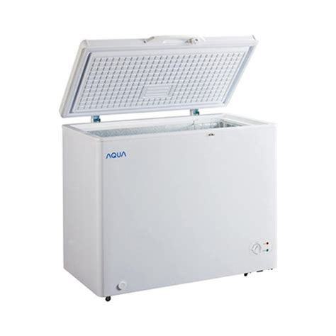 Jual Freezer Sanyo Second jual sanyo aqua aqf 200w chest freezer 197 l