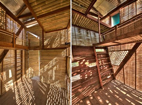 Housse Canapé Interiors bamboo orphanage at soe ker tie house by tyin tegnestue