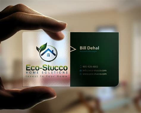 design business cards at home business card design contests 187 inspiring business card design for eco stucco home solutions