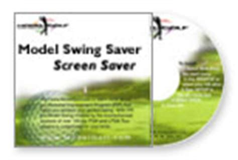 model golf swing screensaver model swing saver 3 0 screen saver cd rom