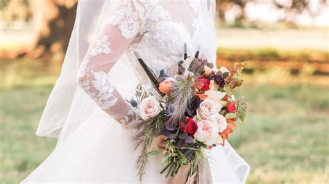 fall wedding inspiration that has us ready to to the ranch southern living